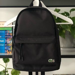 Mini black backpack coolest trend right now